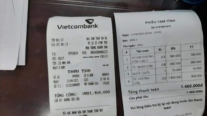 Một nhà hàng ở Nha Trang bị tố chặt chém 1,8 triệu đồng/kg ốc hương - 4