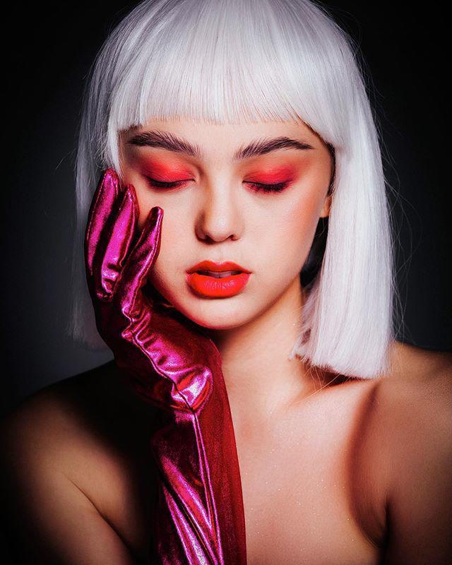 Bạn gái Tiến Dũng - gà Khắc Tiệp lúc hóa thiên thần khi già chát vì make-up-12