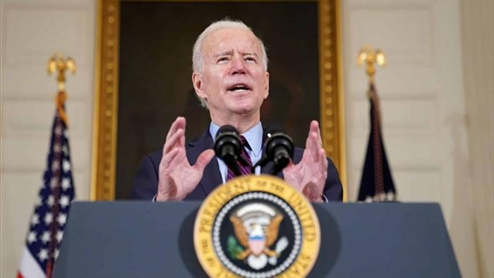 Lần đầu phát biểu trước quốc hội Mỹ, ông Biden không quên 'dằn mặt' Trung Quốc - 1