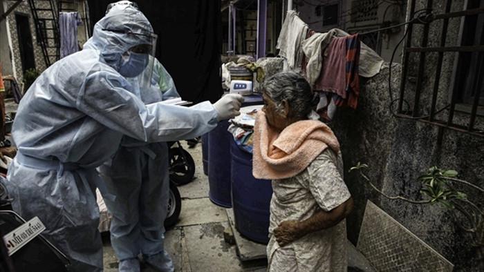 Ngày 'tang tóc' tại Ấn Độ: 3.523 người tử vong do COVID-19/ngày - 1