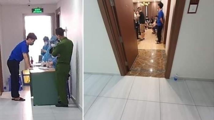 Hơn 40 người Trung Quốc nhập cảnh trái phép, thuê chung cư sống ở Hà Nội - 1
