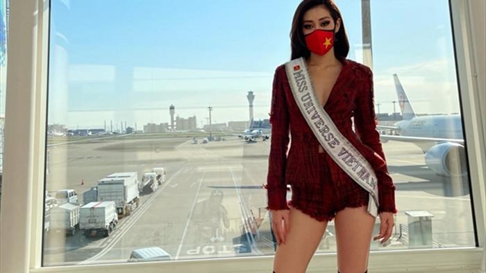 Hoa hậu Khánh Vân và 'chiến thuật váy áo' thông minh khi sang Mỹ - 6
