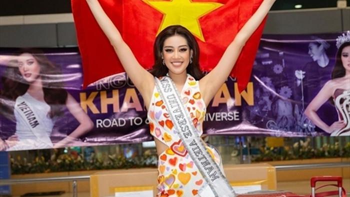 Hoa hậu Khánh Vân và 'chiến thuật váy áo' thông minh khi sang Mỹ - 10