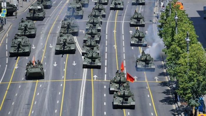 Tổng thống Putin tham dự lễ duyệt binh kỷ niệm Ngày Chiến thắng - 1