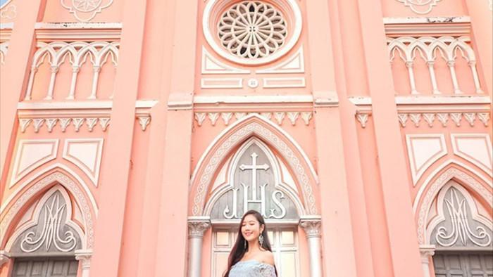 Chụp cháy máy ở 3 nhà thờ màu hồng đẹp nhất Việt Nam - 4