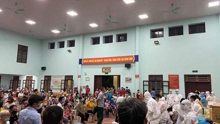Ổ dịch huyện Thuận Thành lớn nhất nước,  90 ca dương tính SARS-CoV-2 - 2