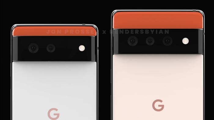 Google Pixel 6 và Pixel 6 Pro lộ diện với thiết kế hoàn toàn mới - Ảnh 3.