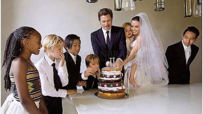 Lịch sử tình ái nổi tiếng của Angelina Jolie trước khi quyết định độc thân - 9
