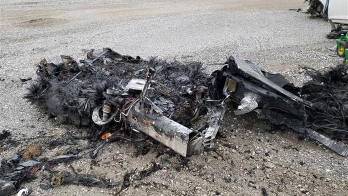 Siêu xe McLaren bị cháy thành tro vẫn được rao bán - 3