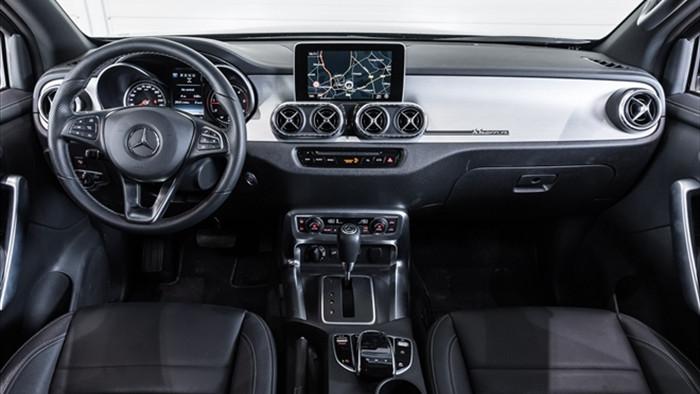 Xe bán tải Mercedes-Benz X-Class độ 6 bánh hầm hố - 5