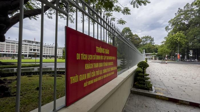 Loạt điểm thăm quan nổi tiếng TPHCM cửa đóng, then cài vì Covid-19 - 4