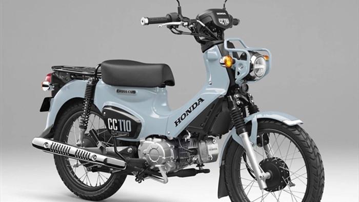 Chi tiết Honda Cross Cub 110 bản đặc biệt chỉ có 2.000 chiếc - 1