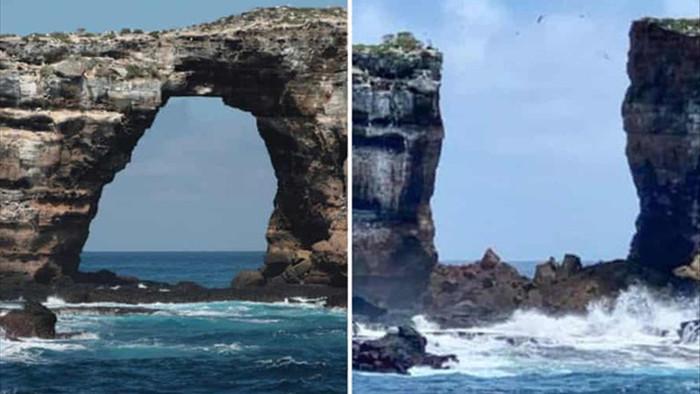 Kỳ quan thiên nhiên Vòm đá Darwin bất ngờ sụp đổ - 2