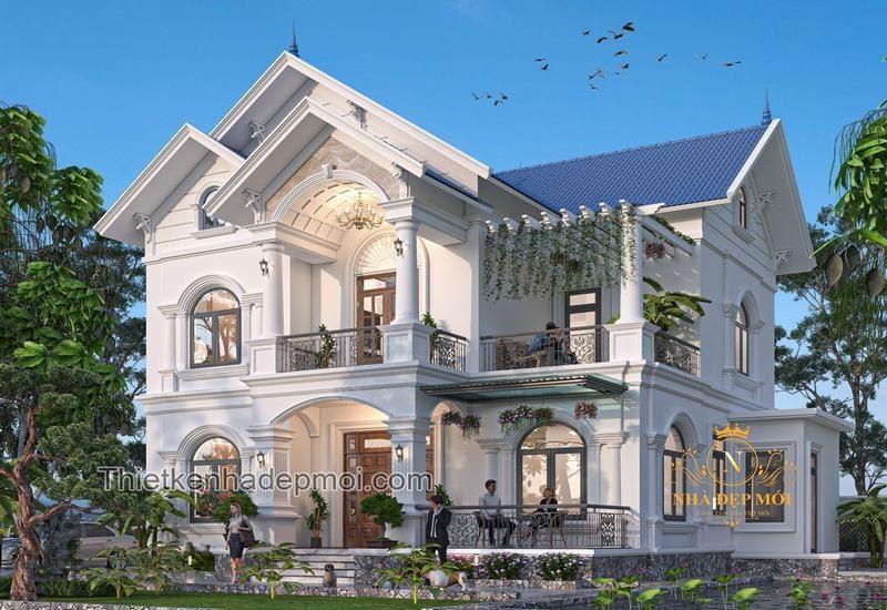 Ngỡ ngàng trước thiết kế biệt thự, nhà đẹp mới và sang trọng-2