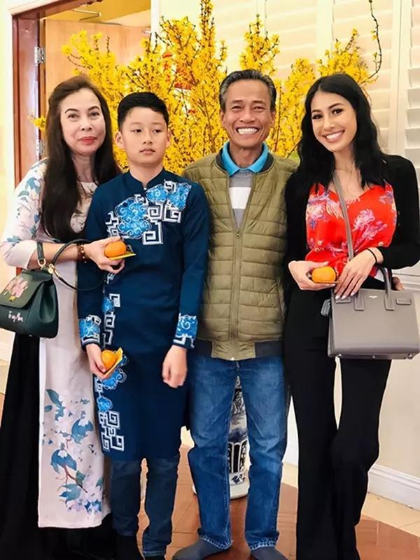 Hồng Nhung, Tăng Thanh Hà kinh ngạc ngoại hình con trai Quang Dũng-4