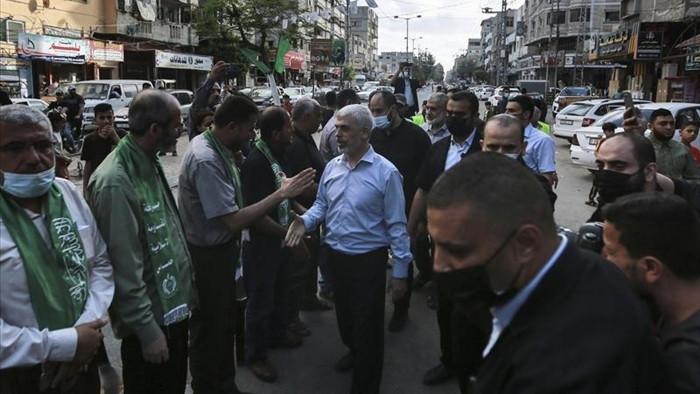 Hamas diễu binh, thủ lĩnh cấp cao bất ngờ xuất hiện - 1