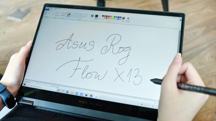 Cận cảnh ROG Flow X13: laptop gaming mỏng nhẹ, xoay gập 360 độ - 3
