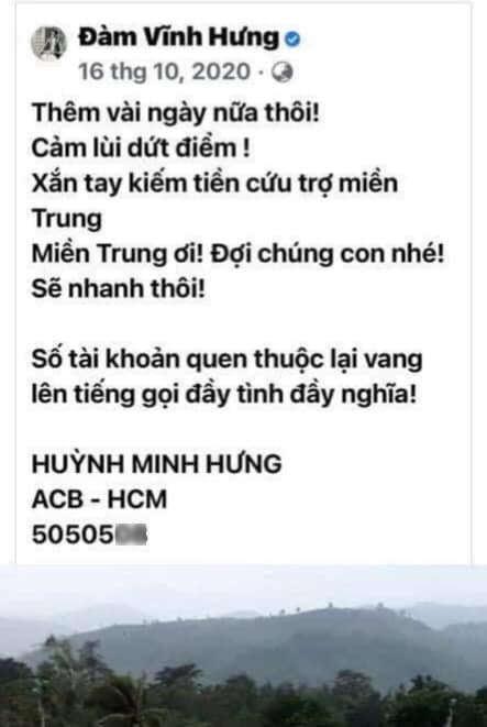 Sau Hoài Linh, Đàm Vĩnh Hưng bị hỏi: Đã ra miền Trung viện trợ chưa?-2