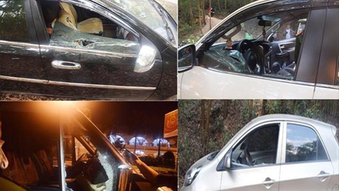 Nhóm học sinh cấp 2 đập phá hàng loạt cửa kính xe ô tô để trộm đồ - 2