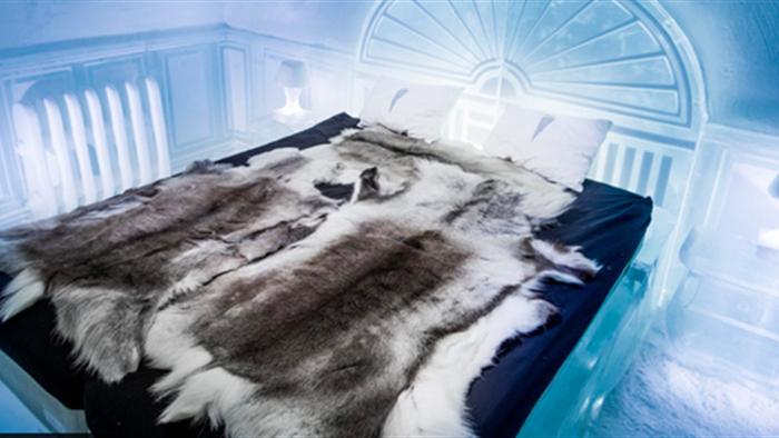 Kinh ngạc với khách sạn làm từ băng tuyết, lạnh giá bốn mùa - 4