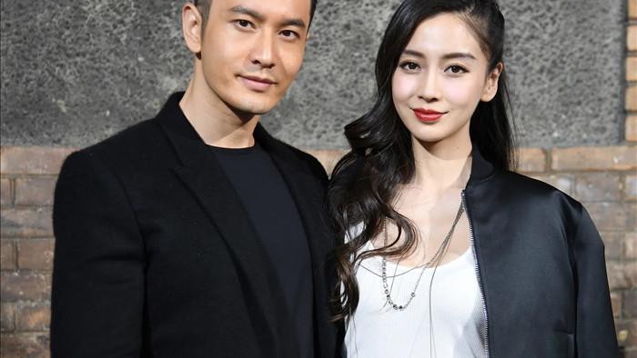 Huỳnh Hiểu Minh được cho là đã phủ nhận tin đồn ly hôn với Angelababy.