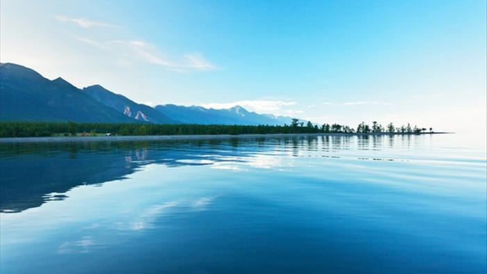 Cảnh đẹp như cổ tích ở hồ nước ngọt sâu nhất thế giới - 4