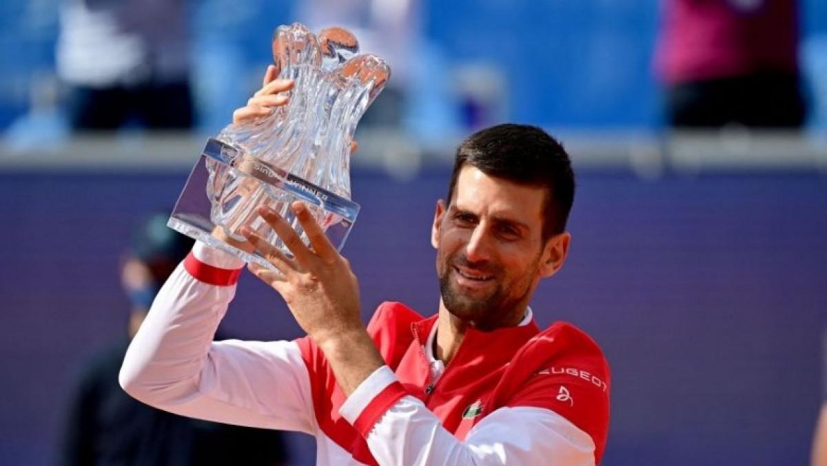 Djokovic đăng quang chức vô địch Belgrade Open trước ngày dự tranh Roland Garros. (Ảnh: Getty).