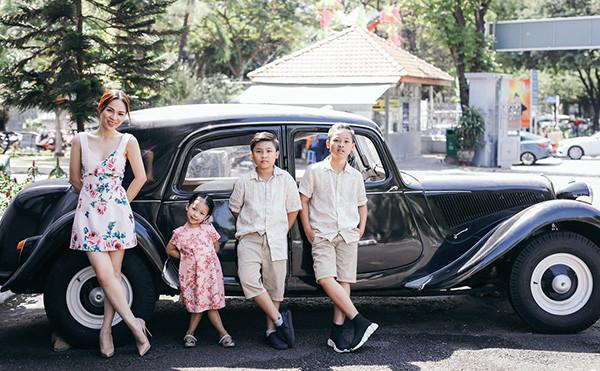 Mai Phương Anh - Mẹ trẻ 3 con sở hữu gu thời trang sang chảnh - 2
