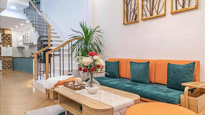 Nhà phố đầy đủ công năng với thiết kế như resort cực chill của vợ chồng trẻ ở Đà Nẵng - Ảnh 4.