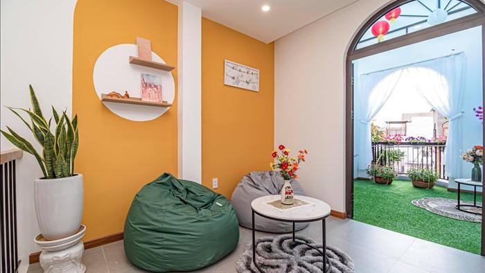 Nhà phố đầy đủ công năng với thiết kế như resort cực chill của vợ chồng trẻ ở Đà Nẵng - Ảnh 18.