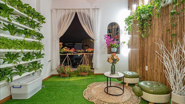 Nhà phố đầy đủ công năng với thiết kế như resort cực chill của vợ chồng trẻ ở Đà Nẵng - Ảnh 20.