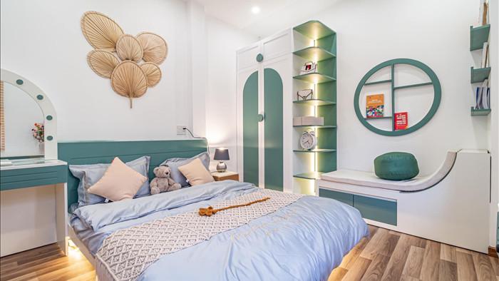 Nhà phố đầy đủ công năng với thiết kế như resort cực chill của vợ chồng trẻ ở Đà Nẵng - Ảnh 12.