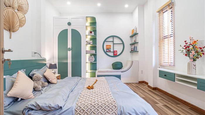 Nhà phố đầy đủ công năng với thiết kế như resort cực chill của vợ chồng trẻ ở Đà Nẵng - Ảnh 11.