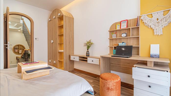 Nhà phố đầy đủ công năng với thiết kế như resort cực chill của vợ chồng trẻ ở Đà Nẵng - Ảnh 17.