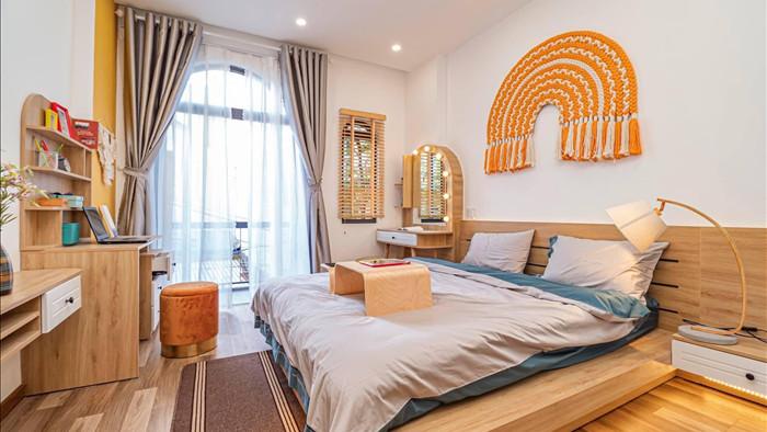 Nhà phố đầy đủ công năng với thiết kế như resort cực chill của vợ chồng trẻ ở Đà Nẵng - Ảnh 16.
