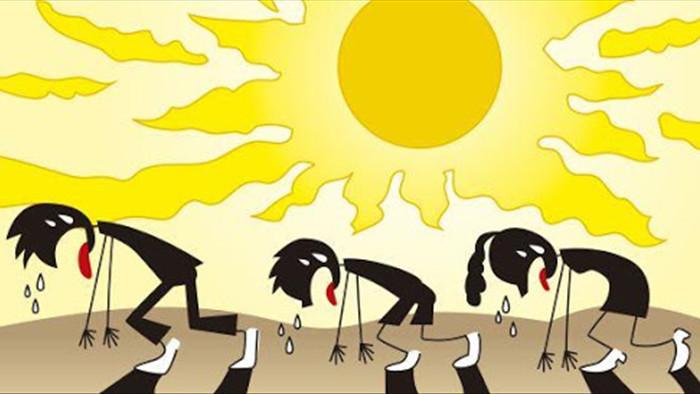 Đây là hiện tượng rất dễ gặp trong tiết trời nắng nóng cực điểm, cần làm ngay điều này để tránh nguy cơ đột quỵ, tử vong! - Ảnh 1.