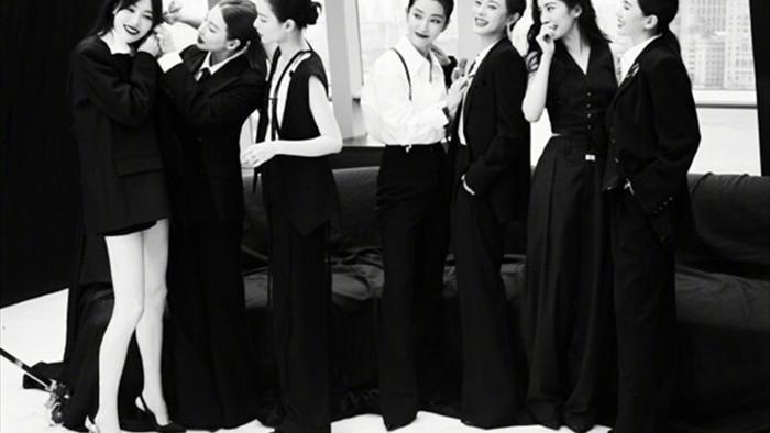 Bức ảnh chụp chung 7 nữ minh tinh Trung Quốc gây bão mạng - 4