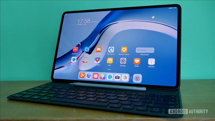 Máy tính bảng đầu tiên chạy HarmonyOS của Huawei có giao diện rất giống với iPad - Ảnh 1.