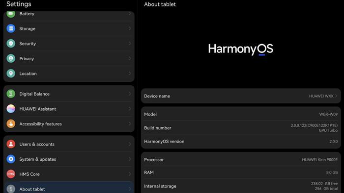 Máy tính bảng đầu tiên chạy HarmonyOS của Huawei có giao diện rất giống với iPad - Ảnh 5.
