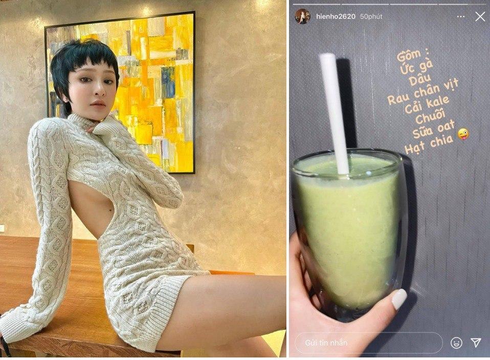Thức uống healthy giúp mỹ nhân Việt làm đẹp da, giữ dáng mùa dịch-10