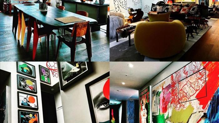 Căn hộ sang trọng của G-Dragon được trang trí như một bảo tàng nghệ thuật(ảnh @xxxibgdrgn)