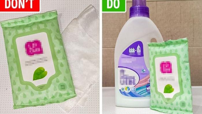 Lợi ích bất ngờ của việc cho khăn ướt vào máy giặt  - 5