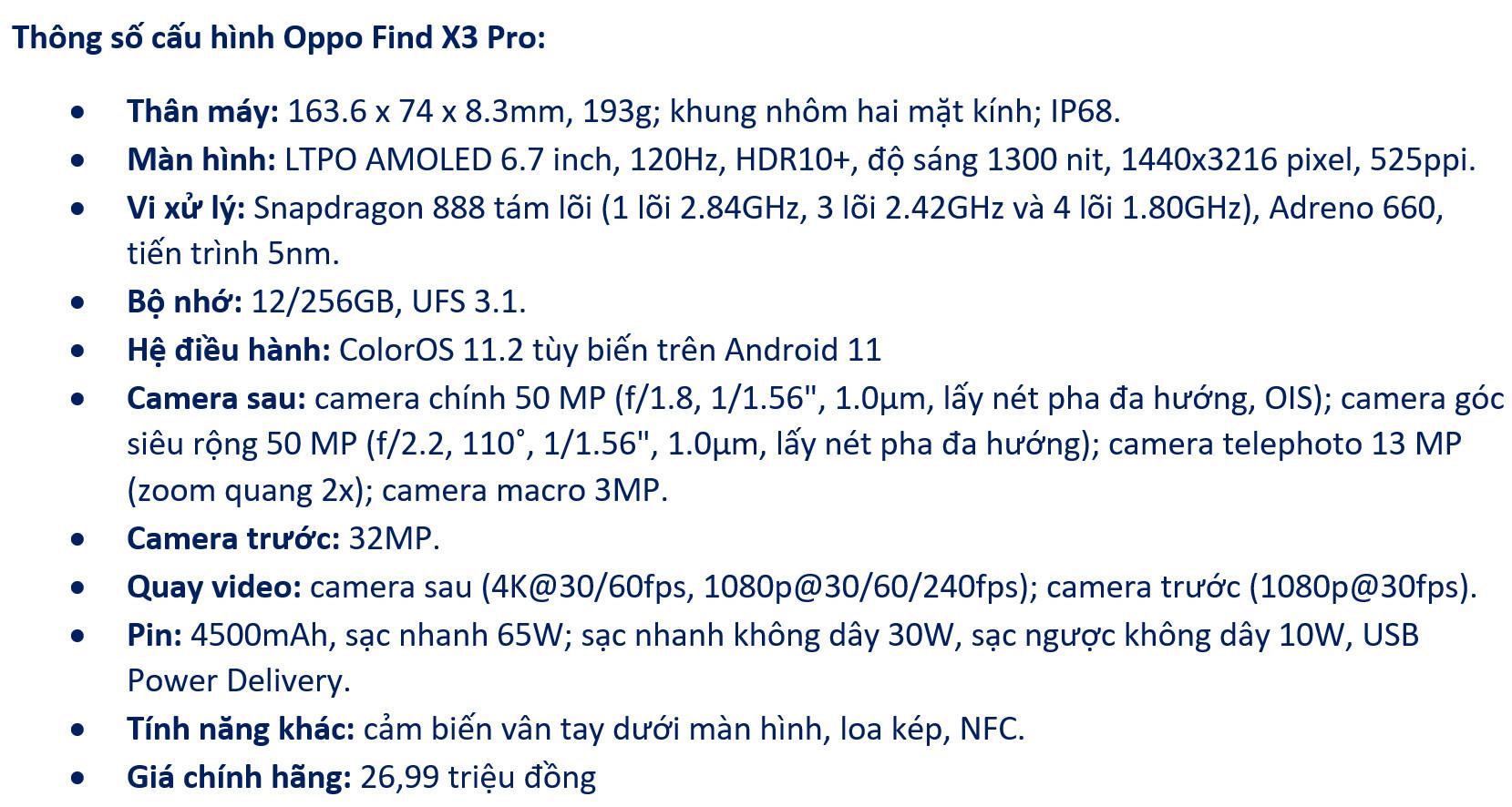 Đánh giá Oppo Find X3 Pro: flagship gần như toàn diện-1