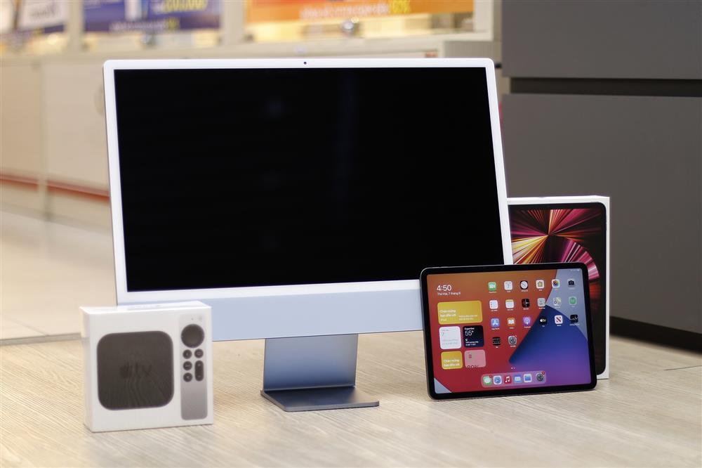 iPad Pro M1, iMac M1 và Apple TV chính hãng chính thức lên kệ tại Việt Nam-1