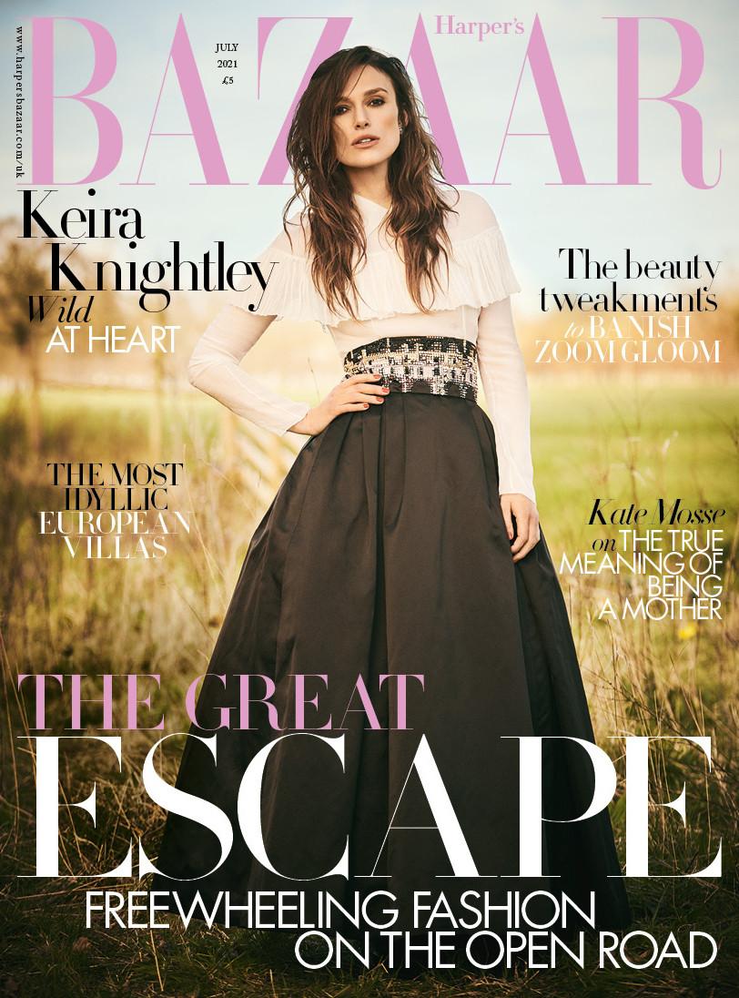 Keira Knightley mặc đồ Chanel hàng ngày suốt thời gian bị phong tỏa-3