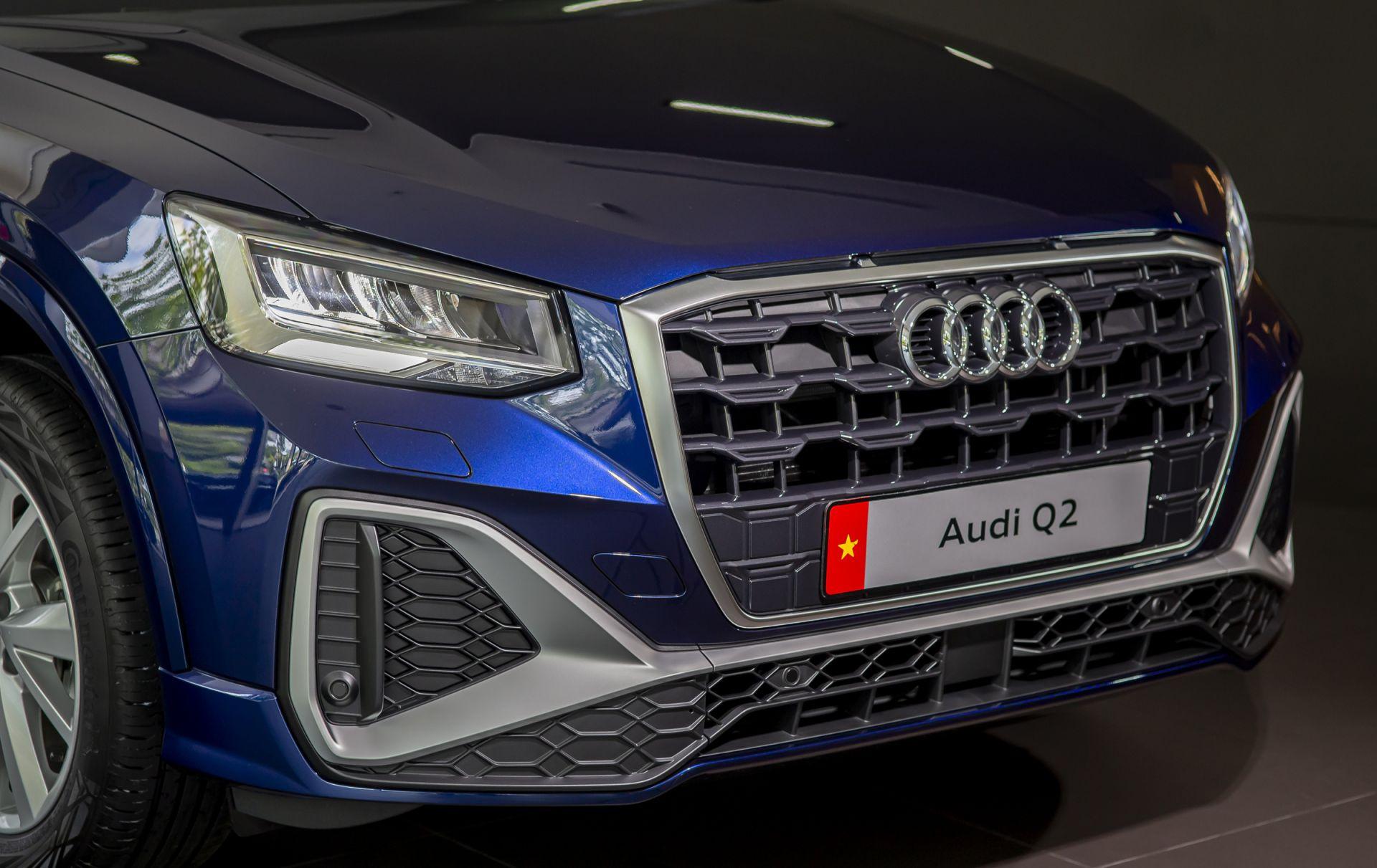 Audi Q2 cập bến thị trường Việt Nam: tinh chỉnh ngoại thất và trang bị-4