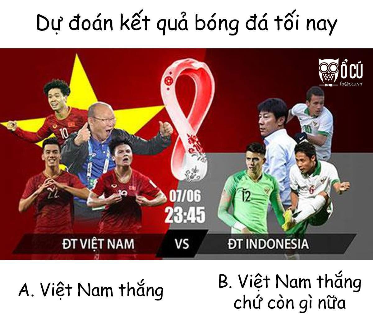 Ngập tràn ảnh chế sau trận thắng của tuyển Việt Nam trước Indonesia-1