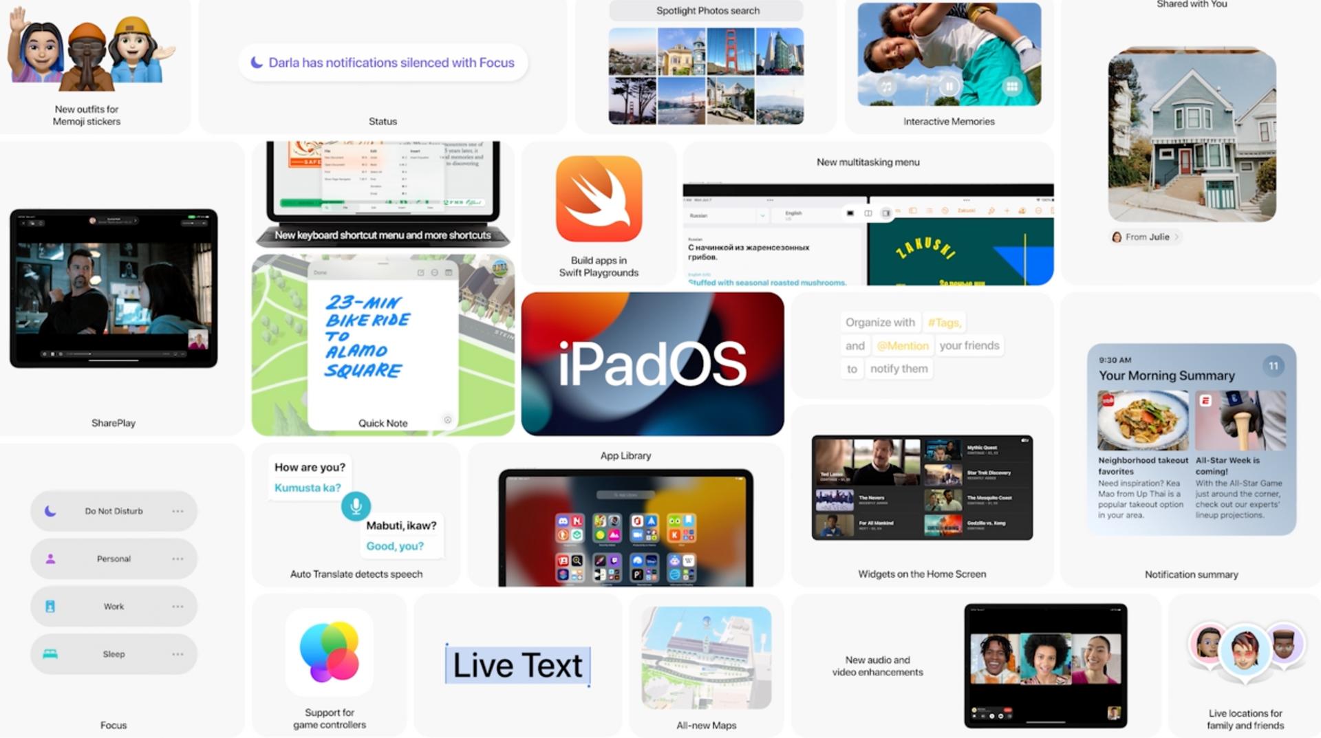 iPadOS 15 chính thức: Thiết kế widget linh hoạt, đa nhiệm tốt hơn-8