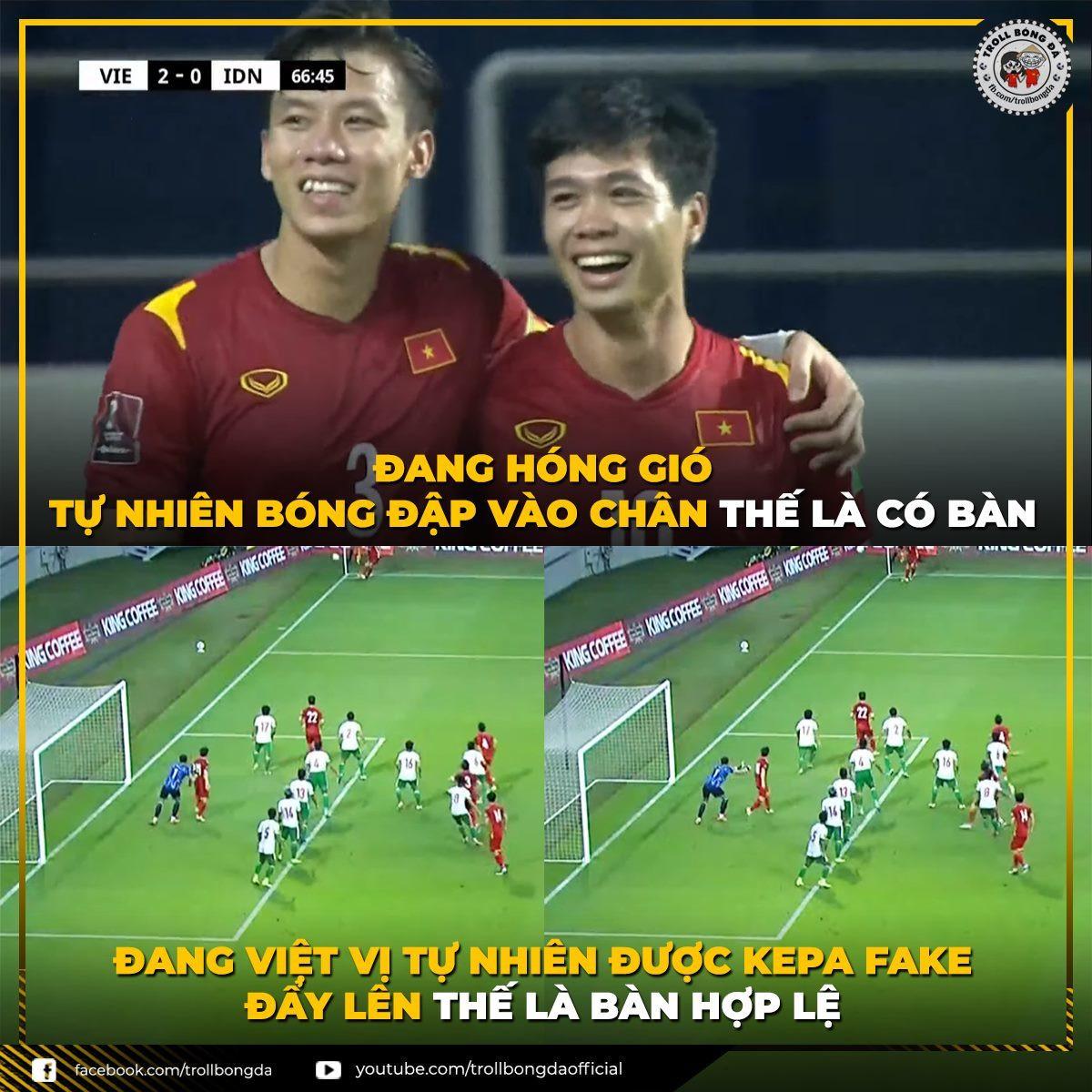 Ngập tràn ảnh chế sau trận thắng của tuyển Việt Nam trước Indonesia-11
