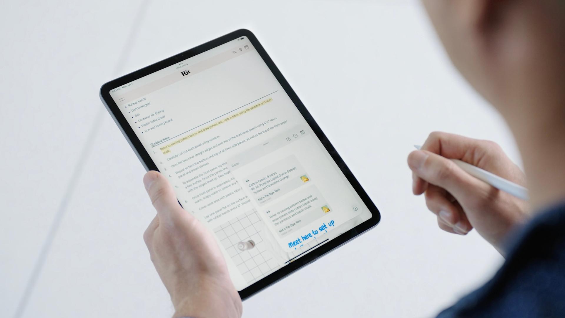 iPadOS 15 chính thức: Thiết kế widget linh hoạt, đa nhiệm tốt hơn-6